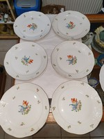 6 db Herendi tányér