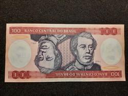 Brazília 100 Cruzeiros UNC