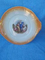 Zsolnay lüszter mázas tányérok 1+5db