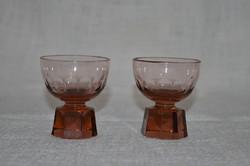 2 db régi likőrös pohár