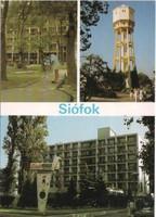 Képeslap 0030 Siófok  postatiszta