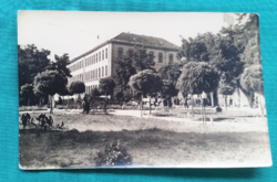 Szerbia,Zombor,Vajdaság,használt fekete-fehér külföldi képeslap 1956