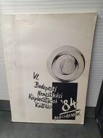 VI. Budapesti Nemzetközi Kisplasztikai Világkiállítás 1984 Műcsarnok