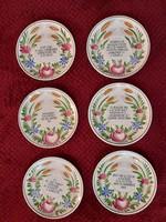 Miatyánkos  tányér sorozat
