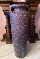 RETRO Tófej-Zalakerámia váza