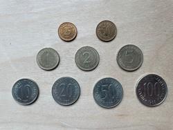 Jugoszlávia Dinár sor 1982-88