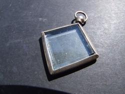 Fényképtartós ezüst medál (080611)