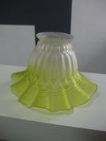 Gyönyörű üveg lámpabura