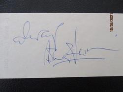 Anthony Perkins /1932-1992/ Amerikai színész /Psycho főszereplője/ eredeti autogramja