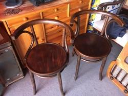 Thonet szék,patkó karfás,2 db ,székpár