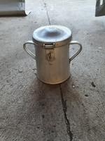 Alumínium 2 l-es zsíros bödön