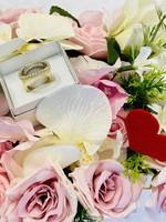 14K arany luxus gyűrű 1 Ft.-ról bomba ajánlat !!!