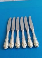Ezüst 6 darab nagy kés