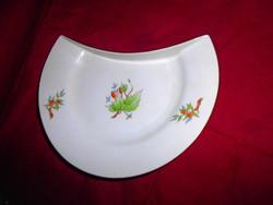 Herendi csipkebogyó  mintával csontos tányér