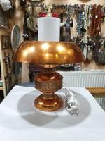 Iparmüvészeti asztali lámpa