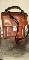 Vintage  bőr autós táska
