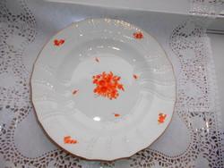 Ó Herendi (címeres) lapos tányér 25  cm