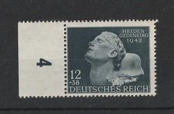 DEUTCHES REICH 1942 Hero Memorial Day