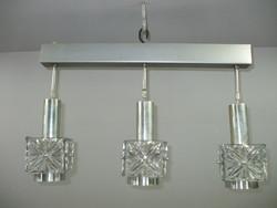 NDK 70-es évek retro öntött üveg lámpa