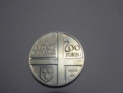 1976 Magyar Festők sor I. - Szinyei Merse Pál 200 forint BB