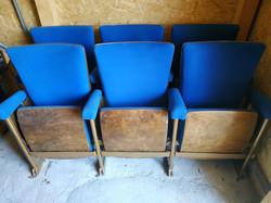 3 db antik dekoratív elegáns kényelmes moziszék mozi szék színház film
