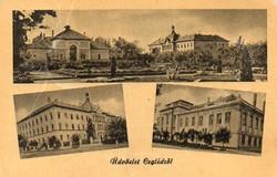 """*C"""" - 022 Futott magyarországi képeslapok  Cegléd - Részletek  (eredeti 60 filléres)"""