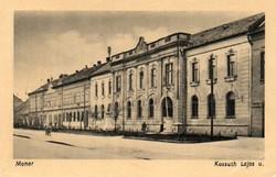 "*C"" - 093 Futott magyarországi képeslapok  Monor Kossuth Lajos u.  (eredeti 60 filléres)"