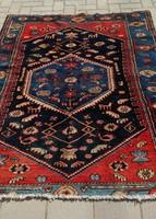 Antik Iráni Afshar nomád szőnyeg szép állapotban. 175x125cm.