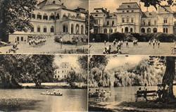 *B - 021 Posta tiszta Magyarország:  Tóalmás - részletek  (eredeti 60 filléres)