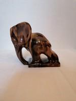 Elefánt Könyvtámasz Komlós kerámia