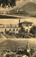 """*C"""" - 037 Futott magyarországi képeslapok  Nagymaros - részletek  (eredeti 60 filléres)"""
