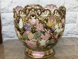Zsolnay antik rokoko kaspo