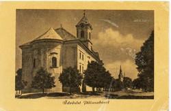 """*C"""" - 046 Futott magyarországi képeslapok  Piliscsaba  (eredeti 60 filléres)"""