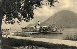 """*C"""" - 033 Futott magyarországi képeslapok  Nagymaros - hajóállomás  (eredeti 60 filléres)"""