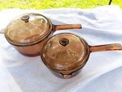 Francia Corning edény szett