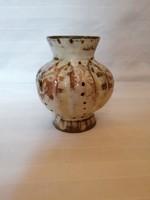 Hódmezővásárhelyi majolikagyár-kerámia váza