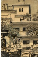 """*C"""" - 032 Futott magyarországi képeslapok  Visegrád - üdülő  (eredeti 60 filléres)"""