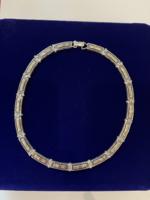 Egyedi 925 ezüst nyakék nyaklánc kollar