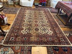 Kopott, de gyönyörű :Antik 70 éves  Tebriz szőnyeg 6m2