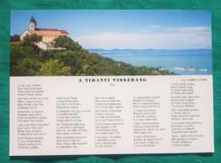 Magyarország,Balatoni képeslap,postatiszta képeslap - Tihany,1997