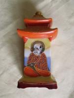 Antik keleti porcelán pagoda illatlámpa kínai parfüm asztali lámpa