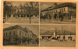 *B - 007  Posta tiszta Magyarország:  Abony - részletek  (eredeti 60 filléres)