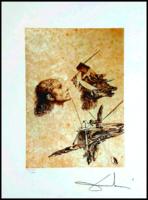 Dali világhírű alkotása - Gala arcának