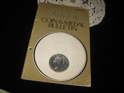 SEABY Coin& Medal Bulettin 1987 angol , árverési közlöny
