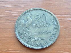 FRANCIA 20 FRANCS FRANK 1950 ( G. GUIRAUD) 4 TOLL,KAKAS #