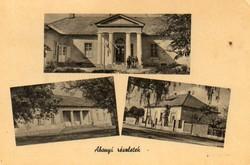 """*C"""" - 060 Futott magyarországi képeslapok  Abony - részletek  (eredeti 60 filléres)"""