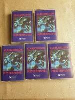 Klasszikusok Mesterművei Readers Digest válogatás 1-5 kazetta, tartóban eladó!