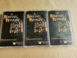 A Békesség hangja, Gregorián Énekek Readers Digest válogatás 1-3 kazetta, tartóban eladó!