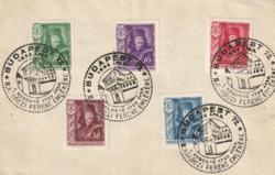 1935. II. Rákóczi Ferenc I.Rodostó emlékrepülés alkalmi bélyegzéssel