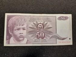 Gyönyörű Jugoszláv 40 Dínár 1990